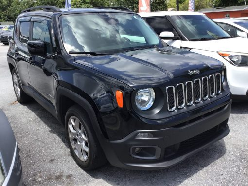 #20 2015 Jeep Renegade Latitude
