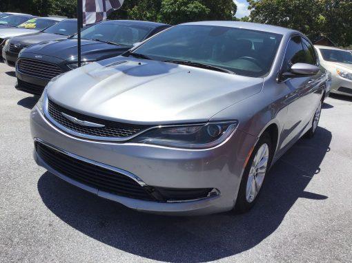 #58 2015 Chrysler 200 Limited