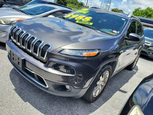 #26 2015 Jeep Cherokee Limited