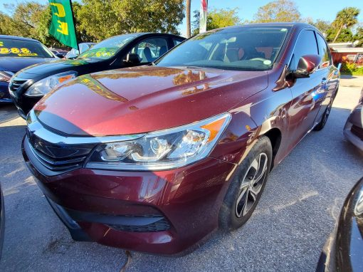 #12 2017 Honda Accord LX