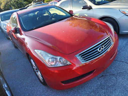 #60 2010 INFINITI G37 Coupe